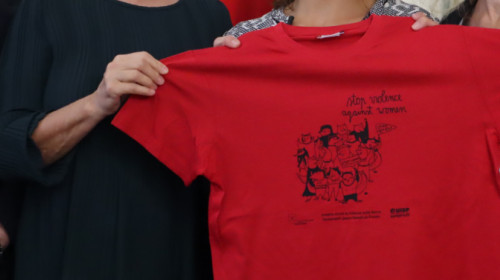 Stadtlauf gegen Gewalt an Frauen