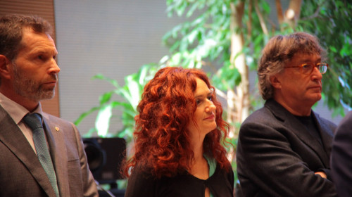 Hanspeter Staffler, Brigitte Foppa, Riccardo Dello Sbarba