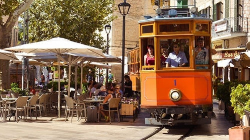 Tren De Soller (Palma di Maiorca), tram
