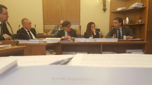 Anhörung Opposition in Rom
