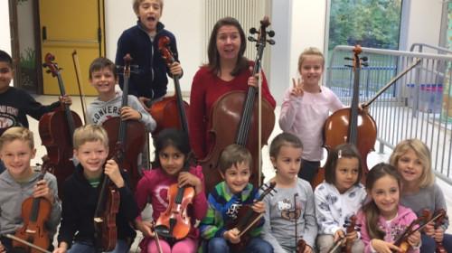 Kinder als Musiker