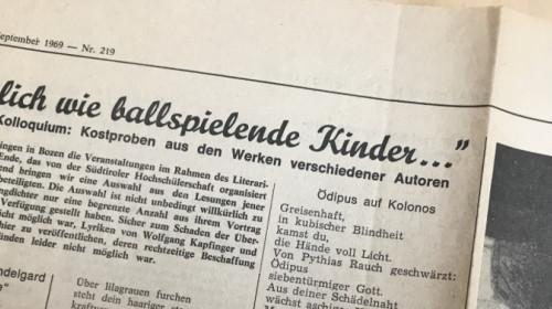 Dolomiten 26. September 1969