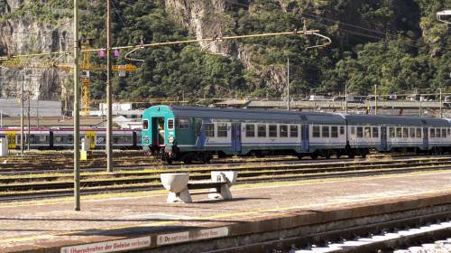 Bahnhof Bozen Gleise&Zug
