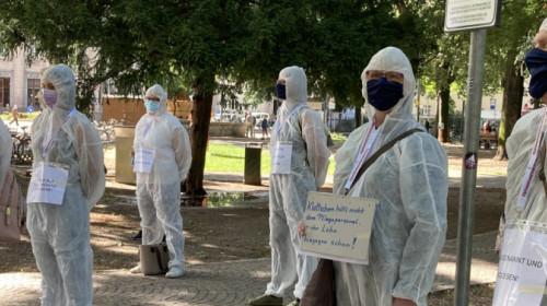 Flash mob sanitari