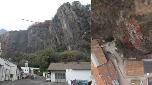 Felsen über der Laimburg