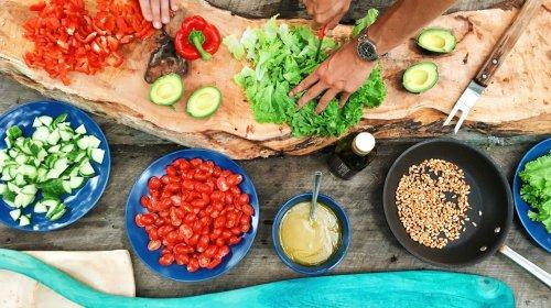 Viel frischen Gemüse gehört zu einer gesunden Ernährung!