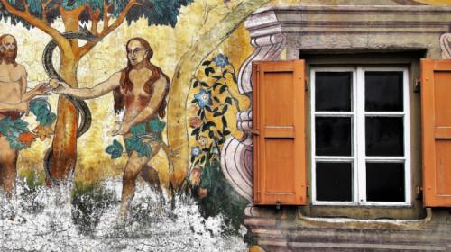 Freske Adam-Eva
