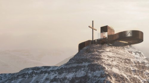 "Aussichtsplattform ""Iceman Ötzi Peak"""