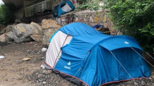 Obdachlos in Bozen