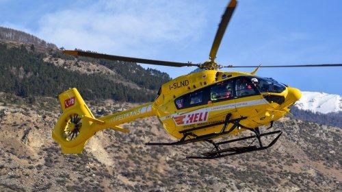 Pelikan, Heli, elicottero, elisoccorso, Alto Adige, Flugrettung