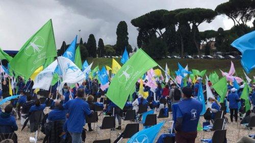 Protesta infermieri Roma