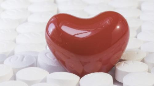 Pille in Herzform