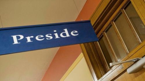 Preside
