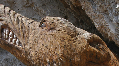Bär in Holz