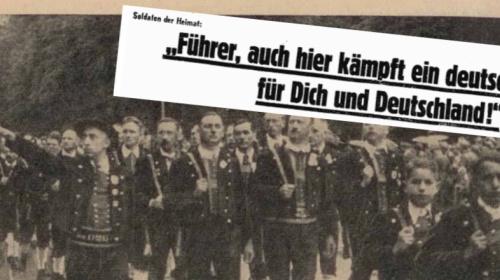 Salurner in Innsbruck – Schlagzeile 16. Mai 1944