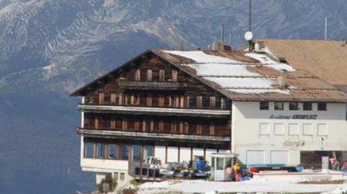 Die alte Bergstation am Kronplatz