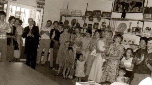 Einweihung Weltladen Brunogasse 1980