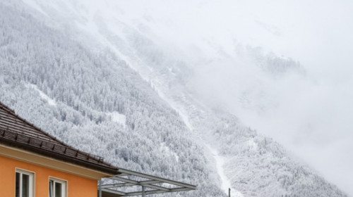 Schnee in Innsbruck