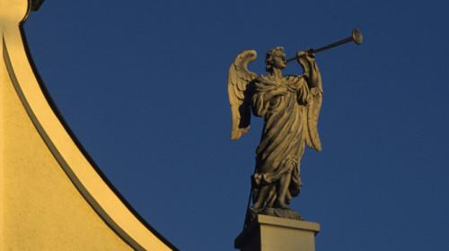 Engel der Pfarrkirche in Innichen