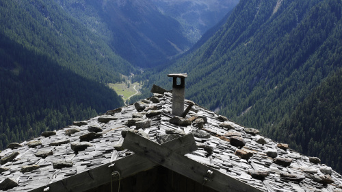 Schindeldach im Ultental