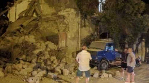 Erdbeben auf Ischia