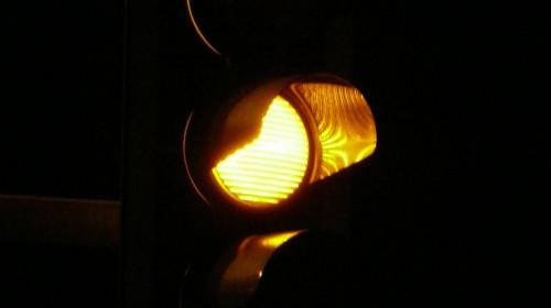 Orange Ampel