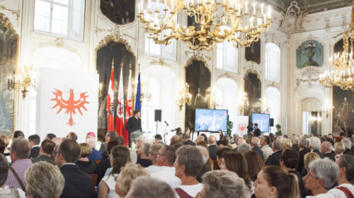 Zeremoniell in Innsbruck