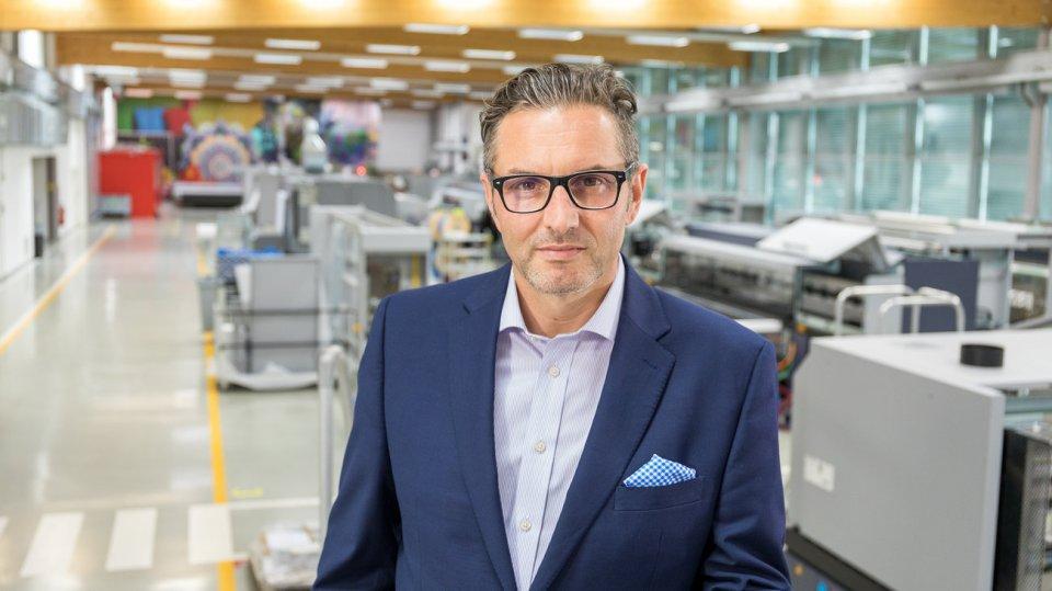 Christoph Gamper, CEO und Miteigentümer der Durst Group