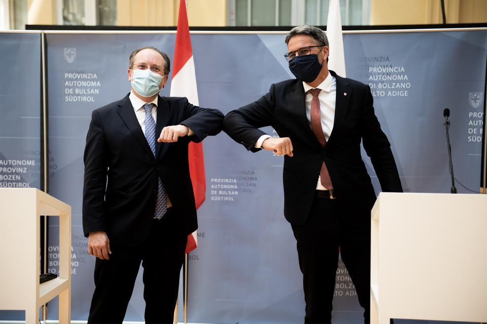 Alexander Schallenberg & Arno Kompatscher
