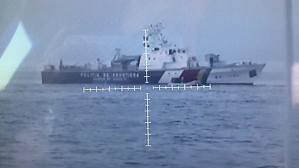 """Illegaler """"Pushback"""" eines Frontex-Schiffes"""