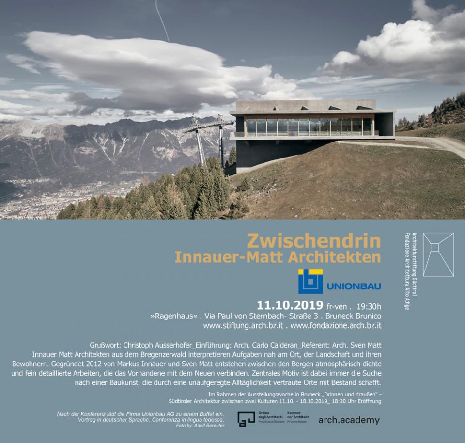 Zwischendrin von INNAUER-MATT Architekten