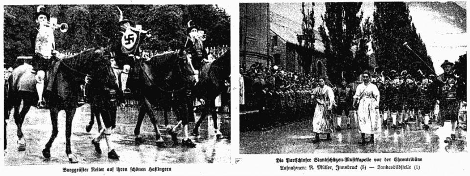 3. Juli 1944 Südtiroler beim Landesschießen