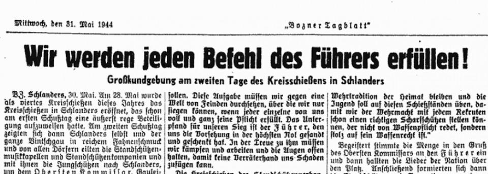 31. Mai 1944 Befehl Führer