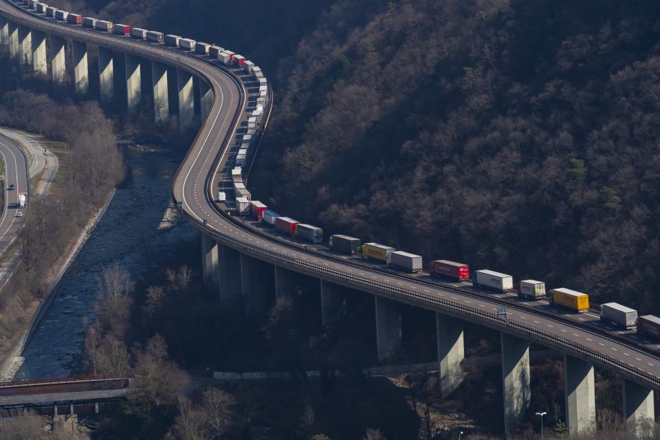 Stau Autobahn