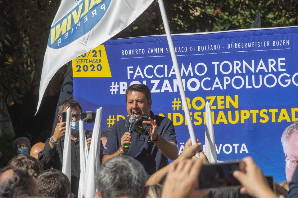 Matteo Salvini, Bolzano