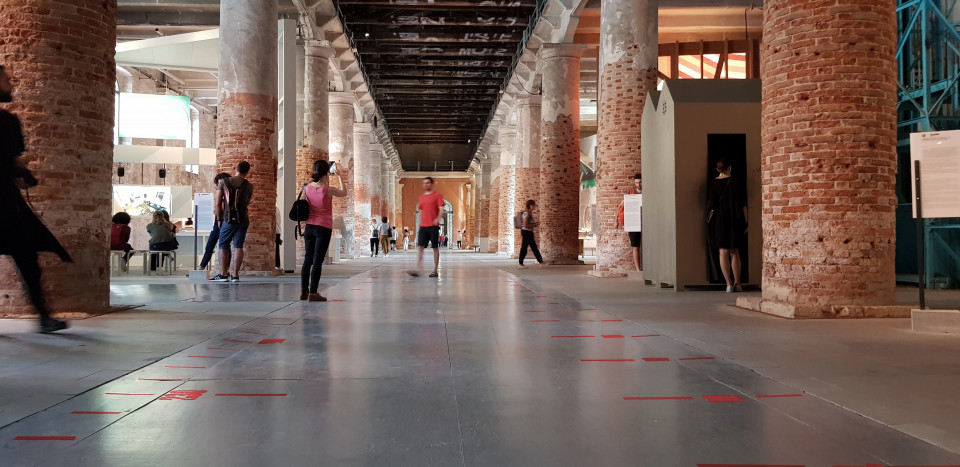Arsenale, meterweise Architektur