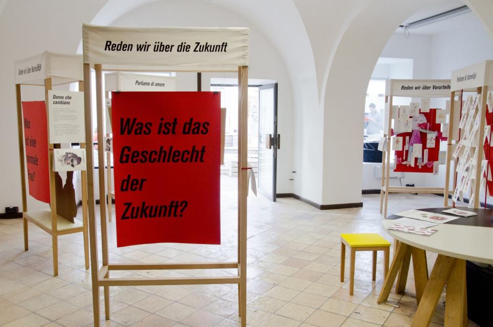 Die Ausstellung Contro verso 2015