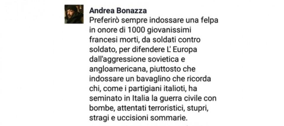 Bonazza Reaktion
