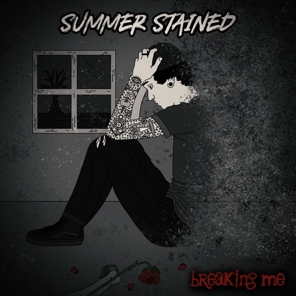 "Das Cover zu aktuellen Single ""Breaking Me"""