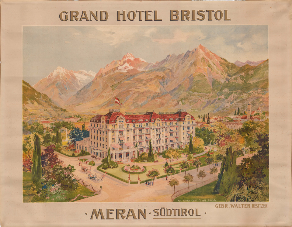Hotel Bristol, Candidus Bächler, manifesto 1908