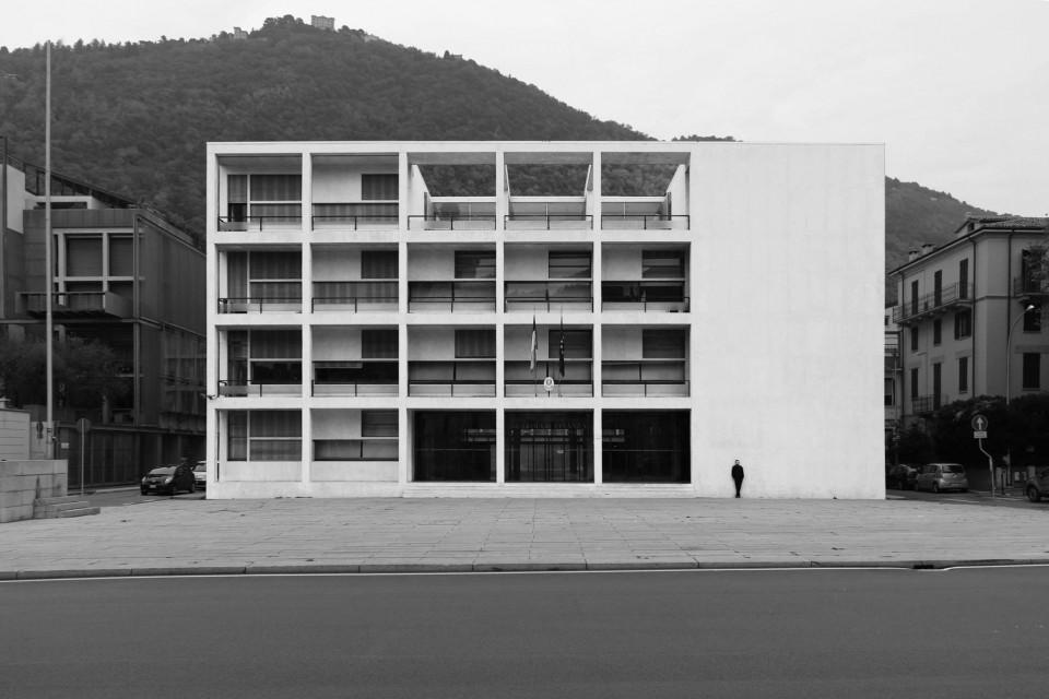 casa del fascio (heute casa del popolo), Giuseppe Terragni, Como 1936