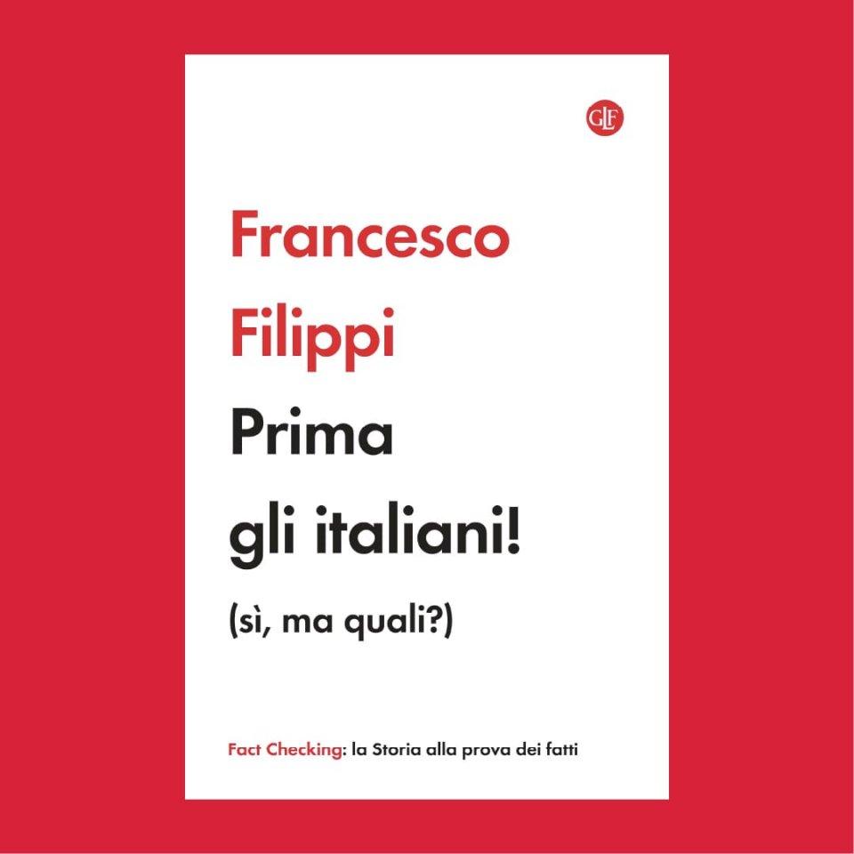 """Copertina """"Prima gli italiani!"""""""