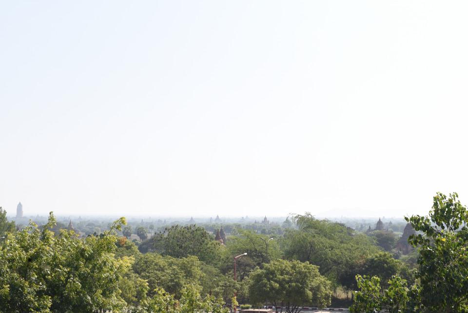 Vista sui templi