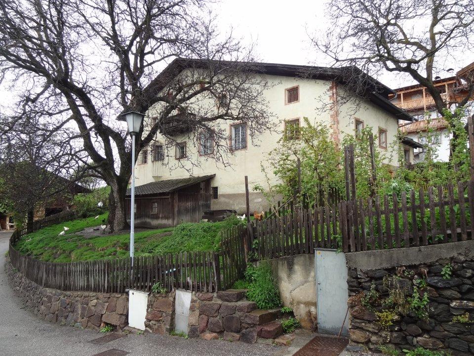 Hatzeshof in Lajen Vorher