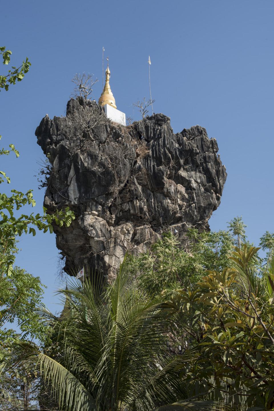 Tempio Kyat Ka Lat, Hpa An