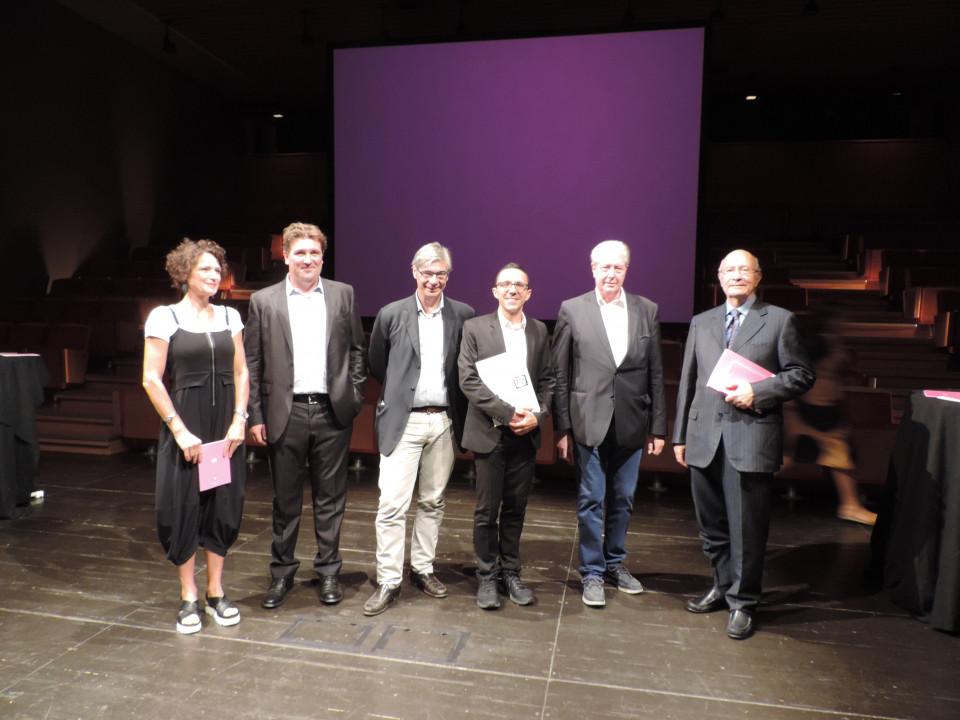 conferenza stampa: Letizia Ragaglia, Zambaldi, Repetto, Tommasini, Caramaschi, Drioli