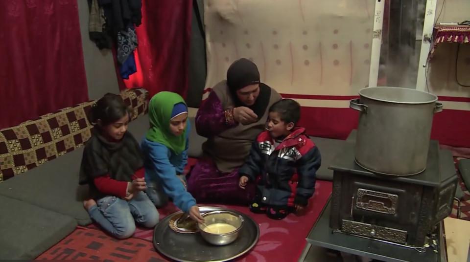 Al Campo Azraq non tutte le famiglie hanno una caldaia