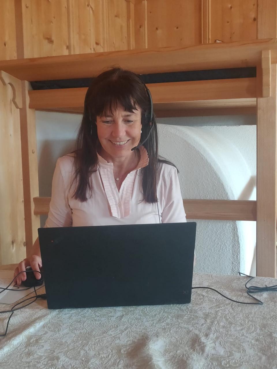 Annemarie Augschöll Blasbichler - Homeoffice
