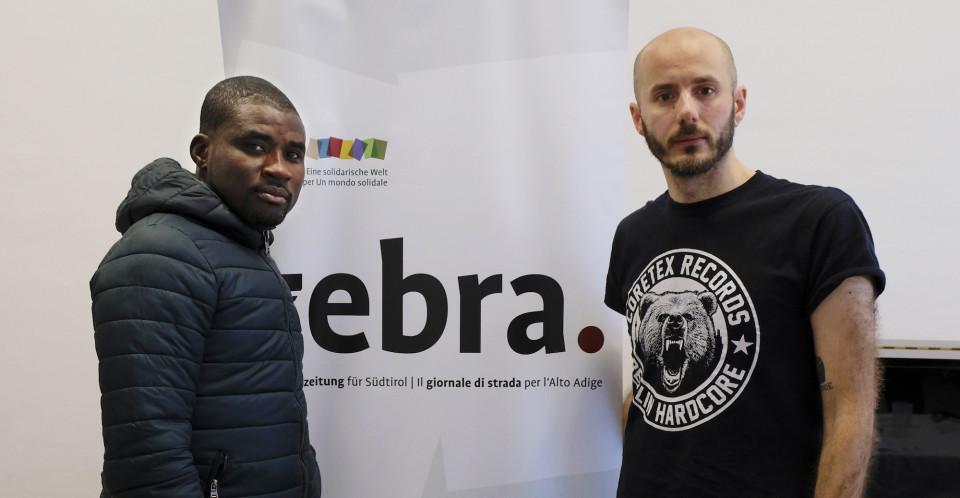 Geofferey Onudu und Alessio Giordano