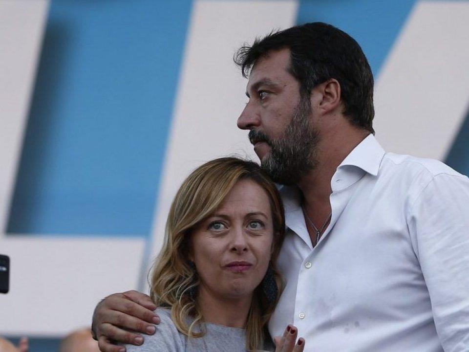 Salvini, Meloni